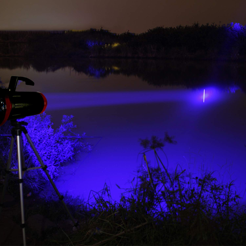 WSXX Super Bright Powerful LED High-Power Fishing Light, Night Fishing Light, Super Bright Glare Fishing Flashlight by WSXX (Image #4)