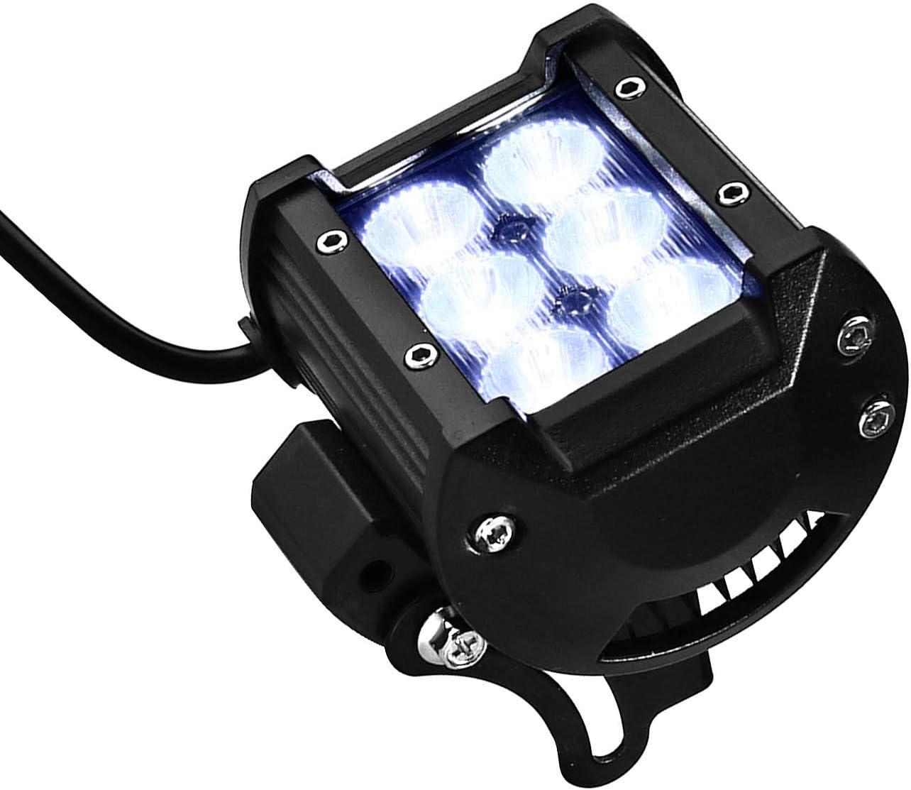 ENET 2/x 4/6/faretto LED 12/V 18/W Fascio di Luce di Lavoro Quadrato di inondazione per Camion SUV