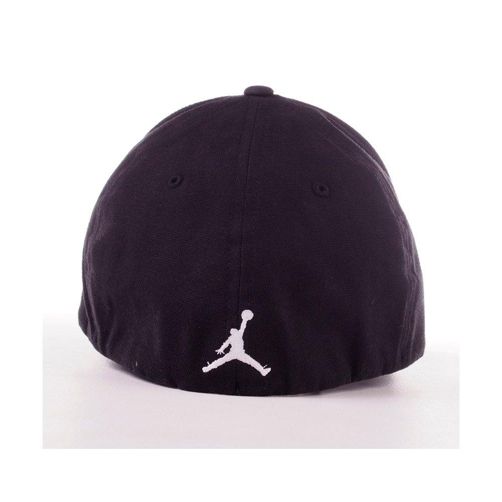 Gorra Nike - Jordan Flex Fit Negro/Blanco L/XL: Amazon.es: Deportes y aire libre