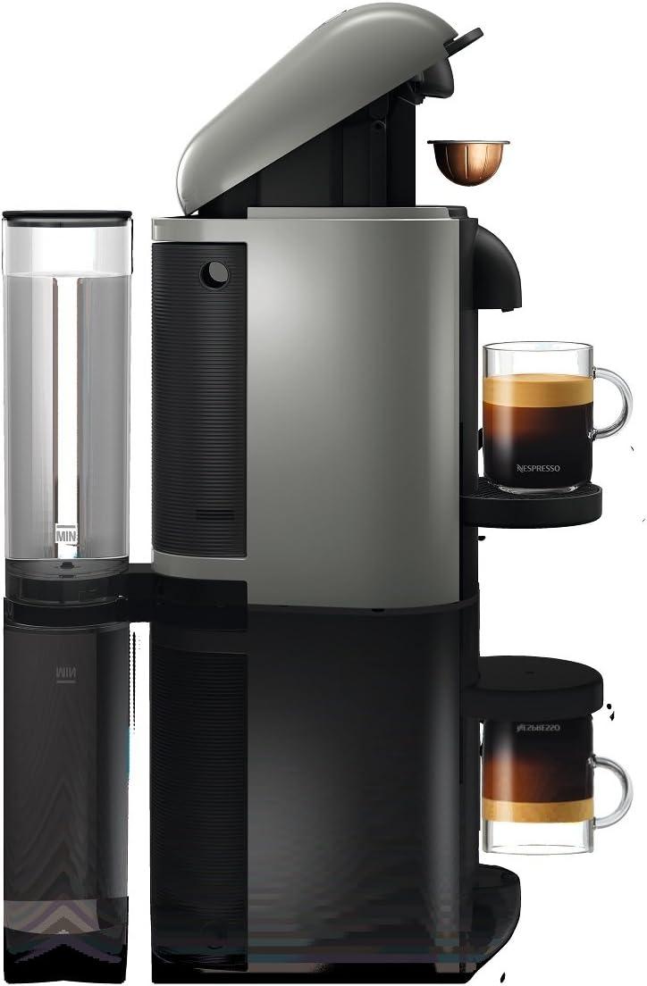 Amazon.com: Breville cafetera Nespresso VertuoPlus, gris ...