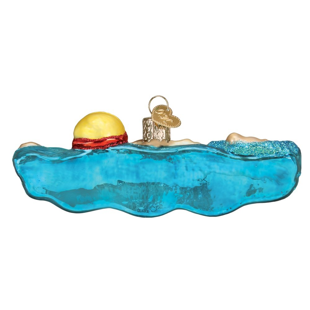 Old World Christmas 44130 Ornament Swimming