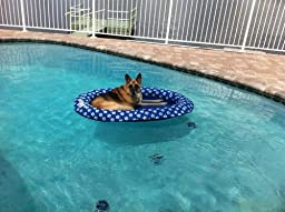 Amazon.com: SwimWays Spring Float Paddle Paws Dog Pool