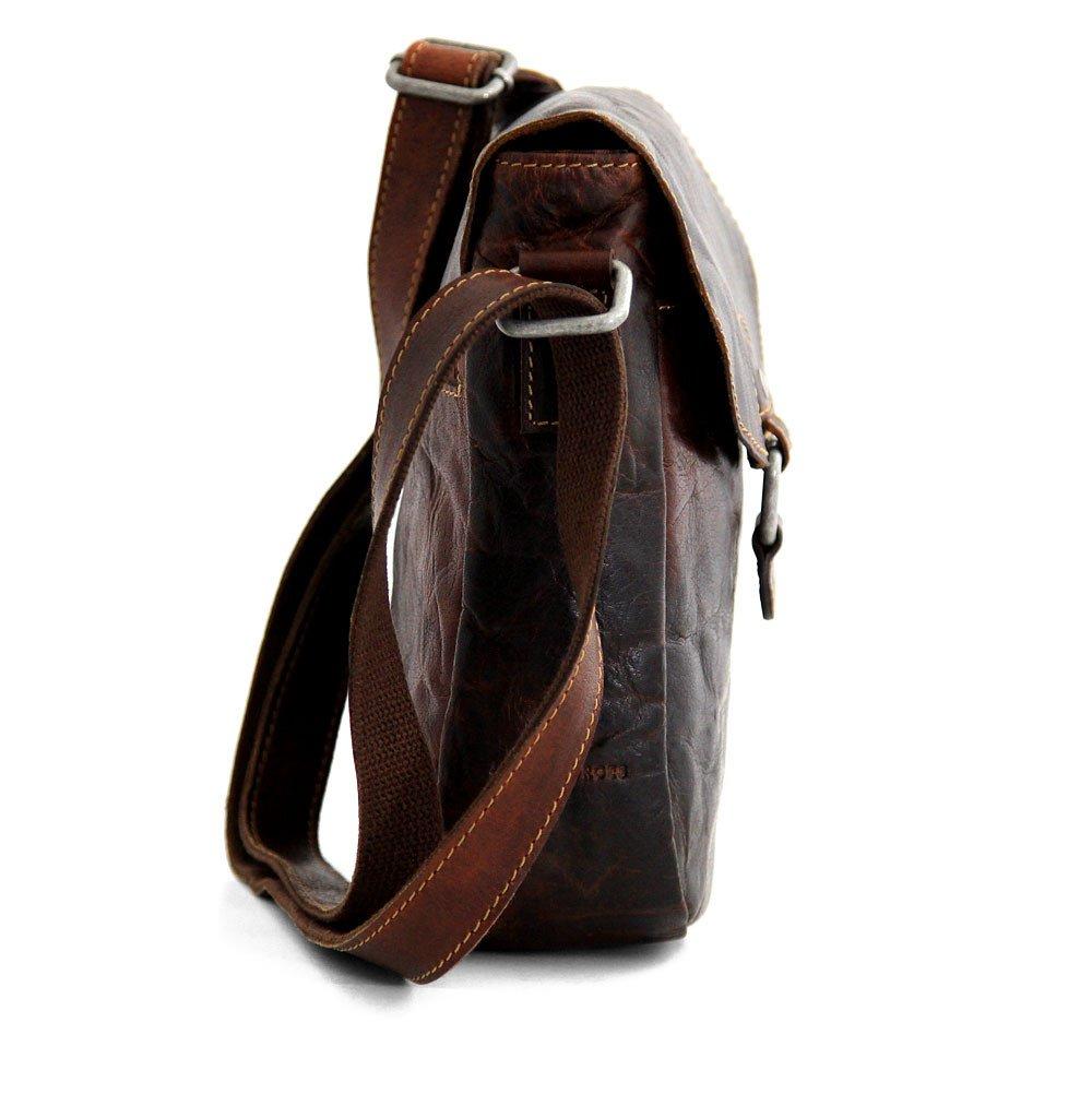 Jack Georges Voyager Horseshoe Crossbody Bag, Leather Shoulder Bag in Brown by Jack Georges (Image #5)