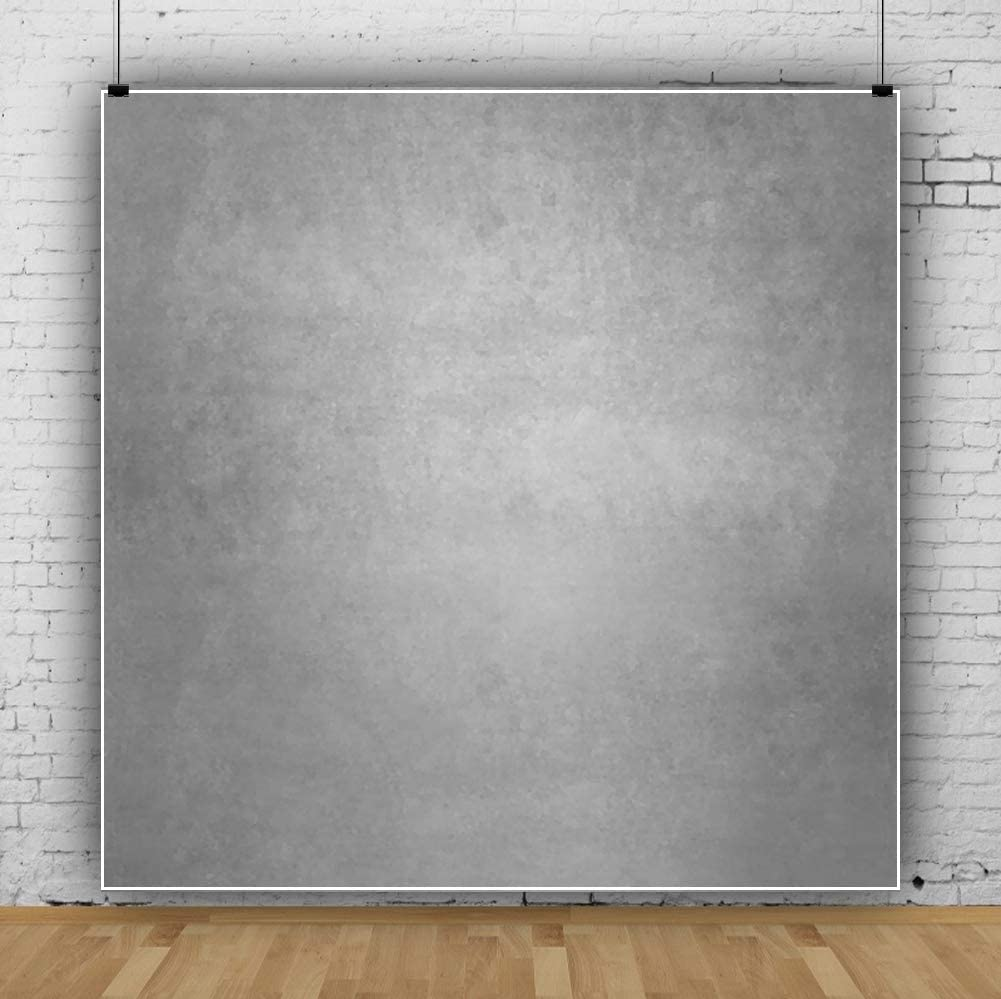 Yeele 10x10ft Photography Background Baby and Kids Gray Pure Color Whimscal Abstract Artistic Personal Portraits Photo Backdrop Studio Props