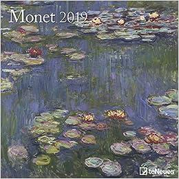 2019 Monet Grid Calendar por Claude Monet epub