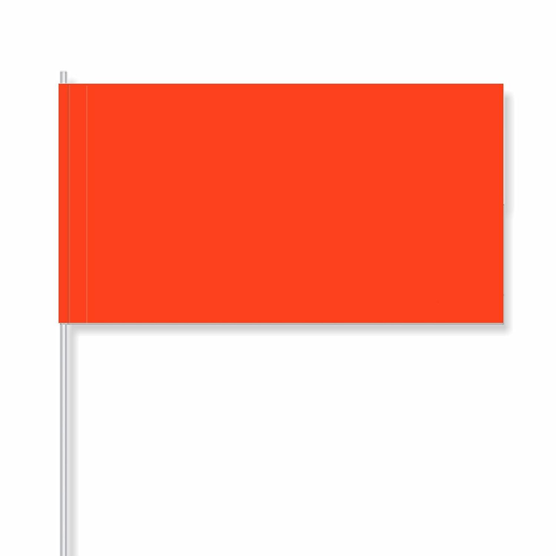 """50 pièce antrada drapeaux en papier """"Orange  (1.000 pièce)"""