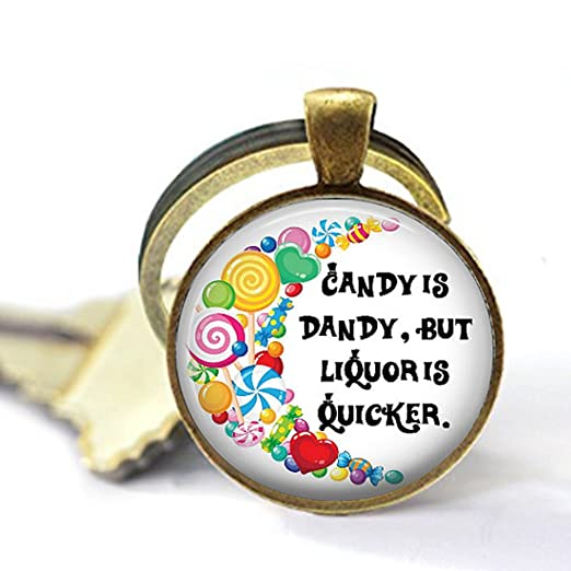 Amazon Candy Is Dandy But Liquor Is Quicker Quote Pendant