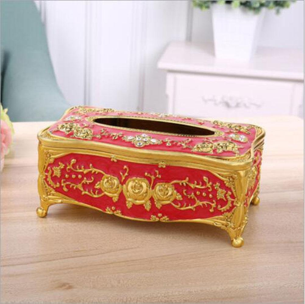Upscale Acrylic Tissue Box Cover Paper Napkin Box Dispenser for Home Office Car Decor , 008