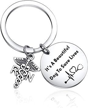 Funny Doctor Keychain Doctor Graduation Key Chain Unicorn Doctor Gift Medical Student Keychain Gift