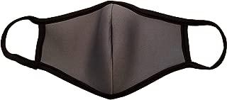 product image for DewAmor Reusable, Washable Neoprene/Cotton Balaclavas, Face Mask (Grey) (Made in USA)