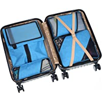 HYCC Compression Durable 6 Piece Travel Organizers with Shoe Bag