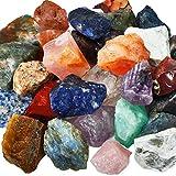 mookaitedecor 1 lb Bulk Natural Raw Crystals Rough