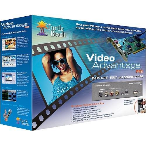 Turtle Beach Video Advantage PCI Video Capture Card /& Front Panel TBS-1500-01