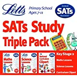 Letts Key Stage 2 SATs Study Triple Pack [Import]