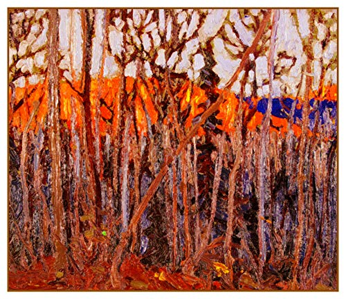 Orenco Originals Tom Thomson's Trees in Algonquin Park Ontario Counted Cross Stitch Pattern (Best Parks In Ontario)