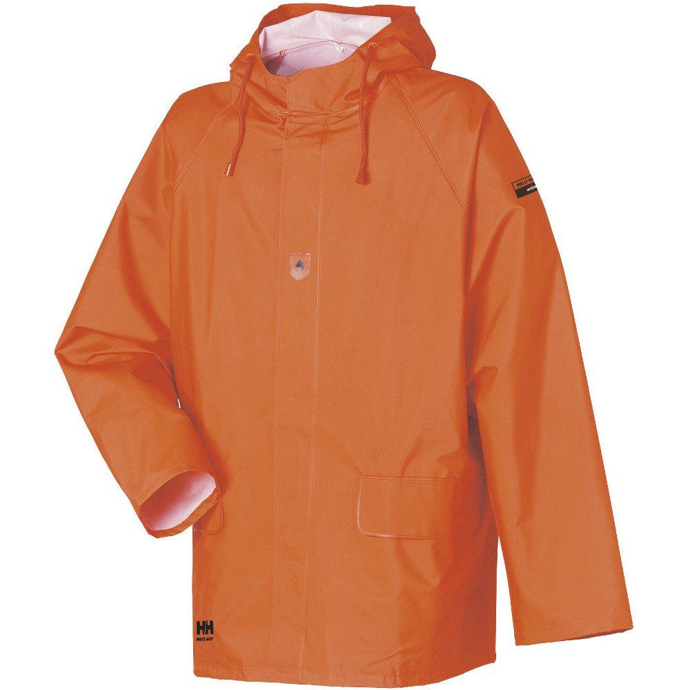 Orange 34-070030-200-3XL Helly Hansen Retardant Work Jacket Horten Jacket 70030/PVC Rain Jacket