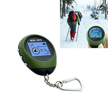 ASDHOI Localizador de rastreo GPS USB/Llavero portátil Mini ...
