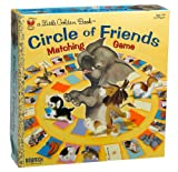 A Little Golden Book: Circle of Friends Matching Game
