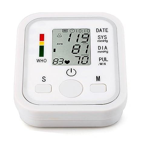 CFZHANG EsfigmomanóMetro TensióMetro Digital De Brazo Y Monitor Del Ritmo CardíAco Con Dos Modos De Usario