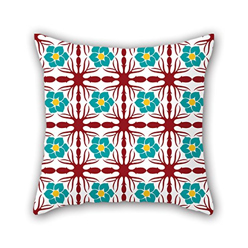 NICEPLW Pillow Covers 20 X 20 Inches / 50 By 50 Cm(both Sides) Nice Choice For Family,teens Girls,gril Friend,wife,study Room Color Block