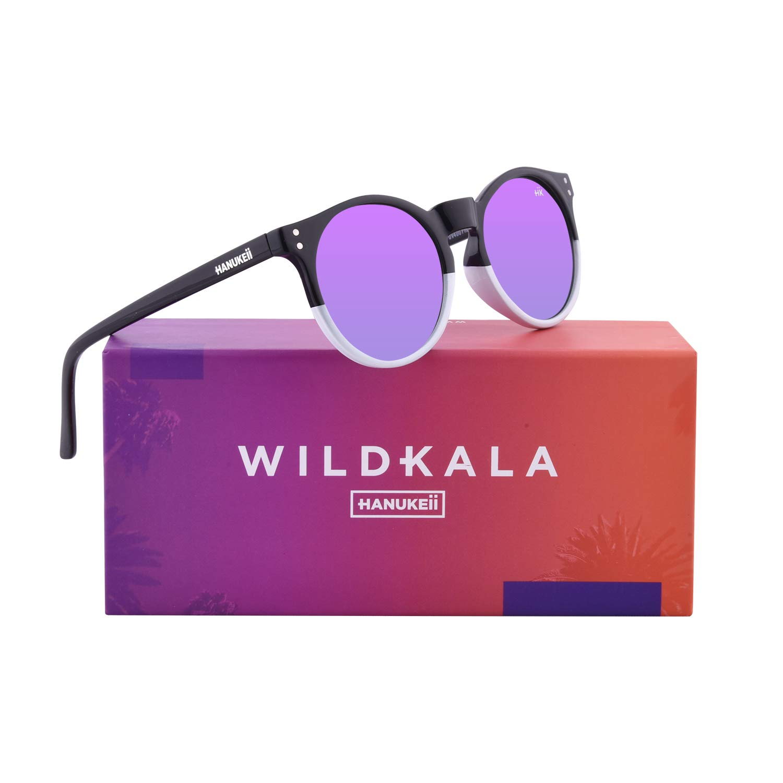Hanukeii Wildkala Black and White Montures de lunettes Noir 51 Mixte Adulte