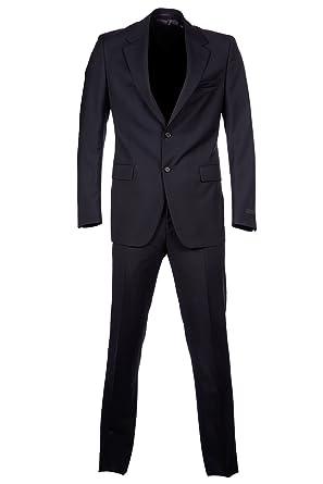 5840523025 Prada Costume pour Homme Laine Toutes Les Saisons blu: Amazon.fr ...