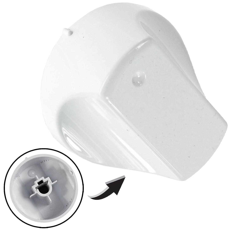 First4Spares Universal Blanco Mando De Control Para Universal Cookers Hornos /& Quemadores