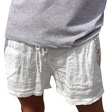 límpido a la vista Código promocional nuevo estilo de Pantalones Cortos Mujer Pantalon Corto Mujer Pantalon ...