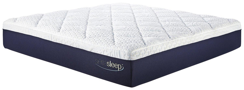 Sierra Sleep by Ashley M97441 13 Memory Foam-Gel Mattress - King - White