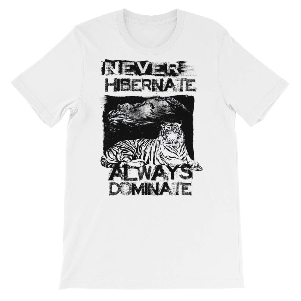 Spicy Cold Apparel Never Hbernate T-Shirt Graphic Shirts Funny Unisex Shirt
