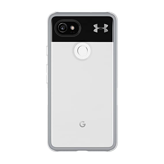 5c56bc1b Under Armour UA Protect Verge Case for Google Pixel 2 XL- Clear/Cool Gray  10C / Gunmetal Logo
