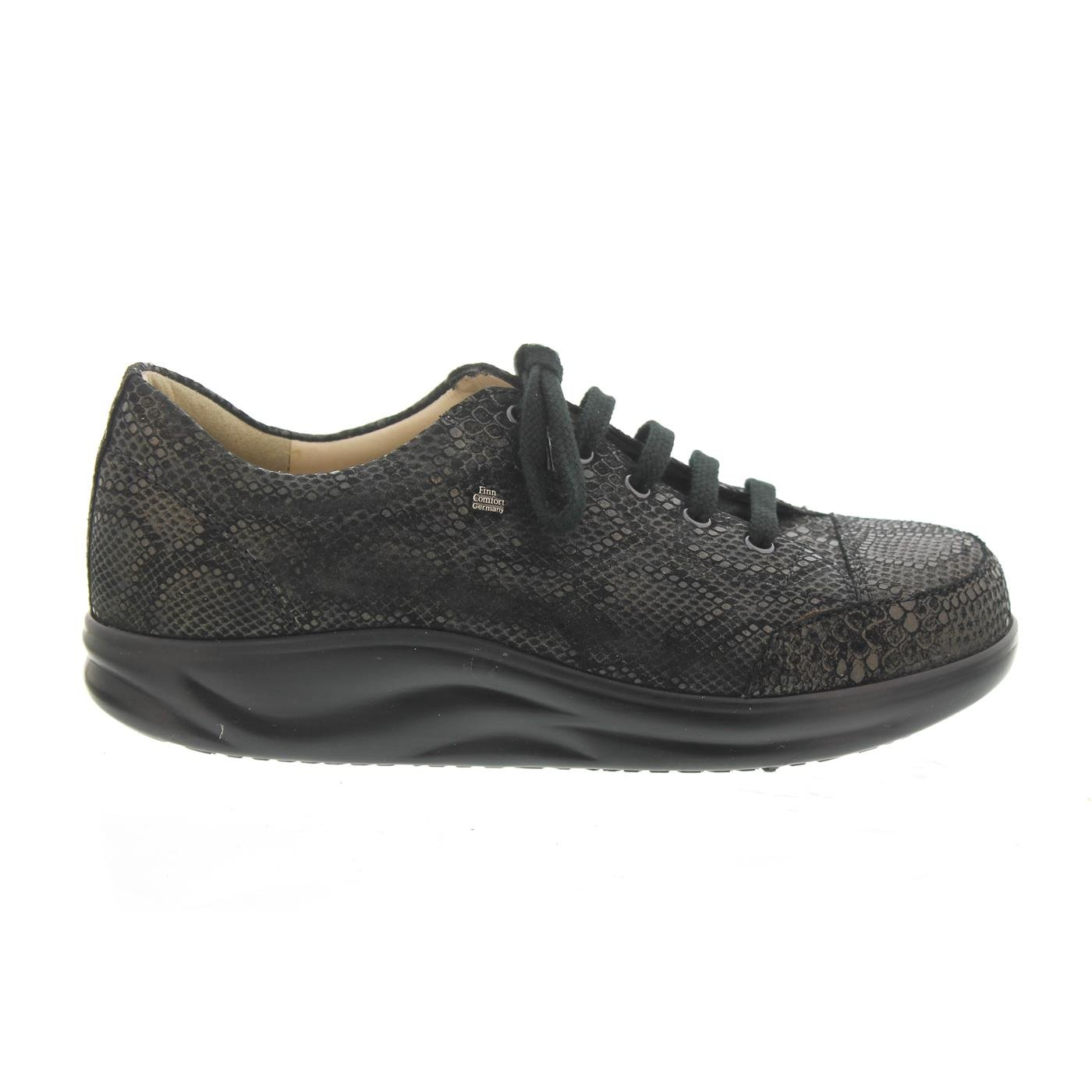 Finn Comfort Women's Ikebukuro Oxford B01CKFNMQG 10 (UK Women's 7.5) Medium|Bronzo Python