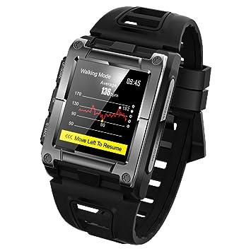 GPS Sport IP68 Waterproof Swimming Smart Watch Heart Rate Monitor ...