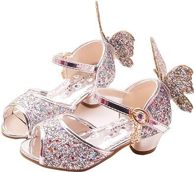 Big Kid Cinderella Princess Low-Heel