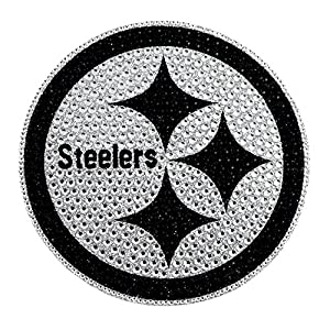 NFL Pittsburgh Steelers Bling Emblem, One Size, One Color at Steeler Mania