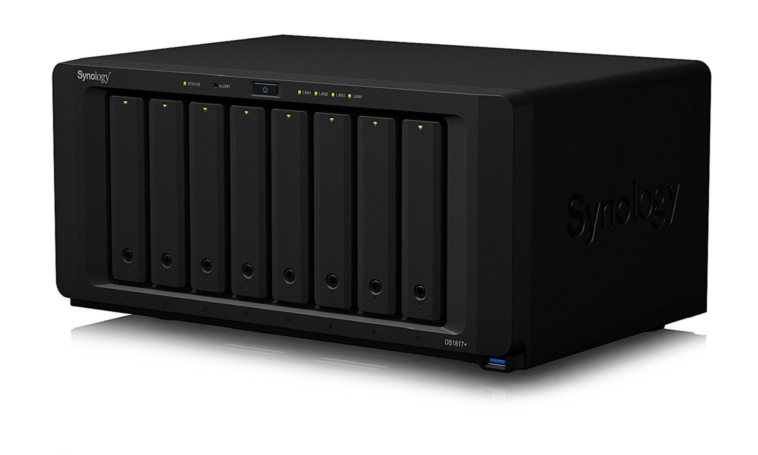Synology 8 bay NAS DiskStation DS1817+ (8GB) (Diskless)