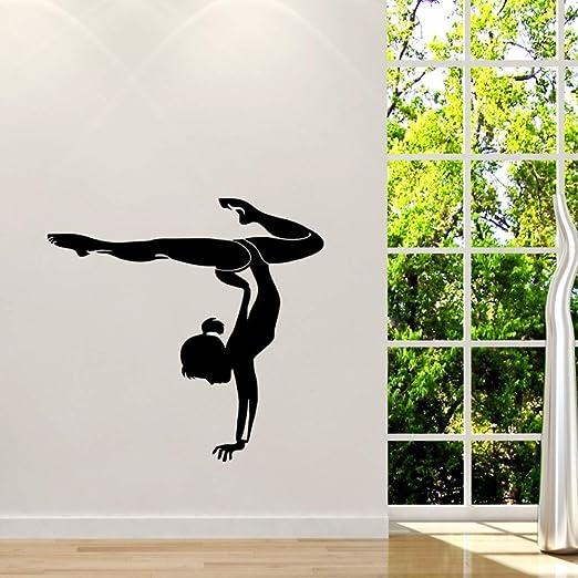 Pvc De Yoga De Pared A Palo Elimina Las Pegatinas De ...