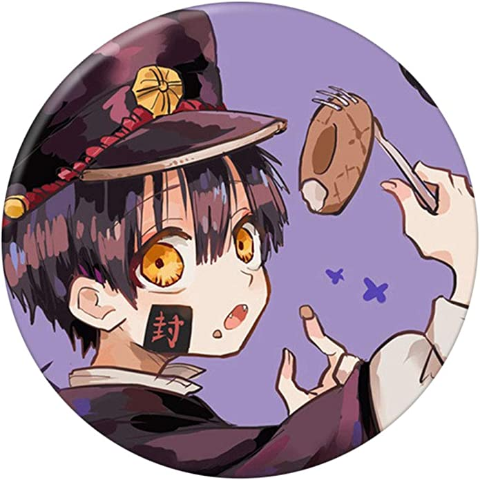 H01 perfect-kim Anime Toilet-Bound Hanako-kun Brooches Button Badges Pins Set for Clothes Hat Backpack Decoratio