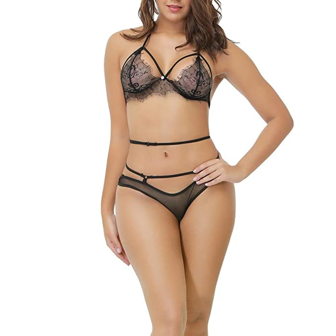 finest selection d4275 fb605 CLOOM Lingerie Sexy Donna, Lingerie da Donna Women Lingerie ...