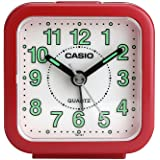 Casio Analog Table Clock (TQ-141-4DF), Red-White clock