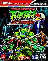 Teenage Mutant Ninja Turtles 2: Battle Nexus Prima Official ...