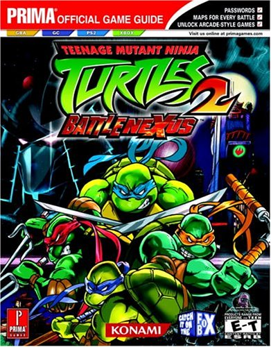 Teenage Mutant Ninja Turtles 2: Battle Nexus Prima Official ...