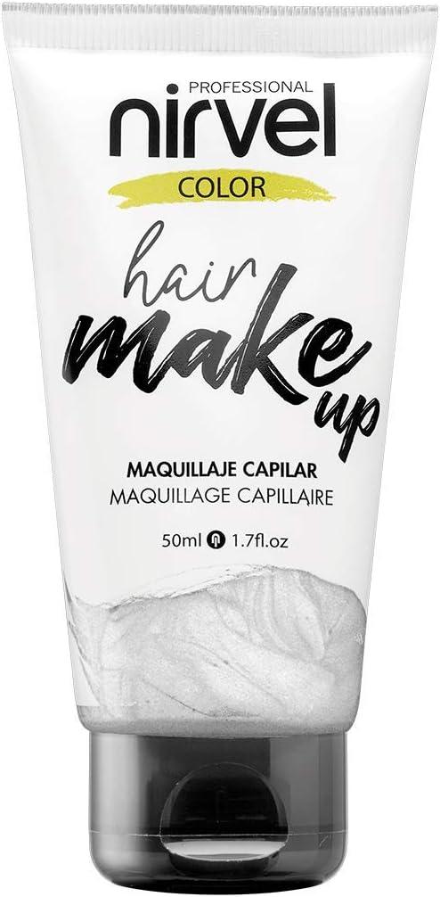 Nirvel Hair Make Up Maquillaje capilar 50 mL, color Silver