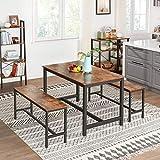 VASAGLE ALINRU Dining Table for 4 People, Kitchen
