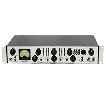 Ashdown ABM 600 RC Evo Iv tète de amplificador para bajo, color plateado