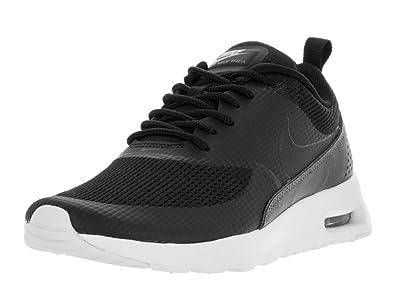 Nike W Air Max Thea TXT, Chaussures de Sport Femme, Gris (Dark Grey/Black-White), 36 EU