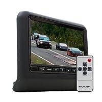 """Monitor Automotivo 9"""" para Encosto de Cabeça com Encaixe AU704, Multilaser, Outros Acessórios para Notebooks, Preto"""