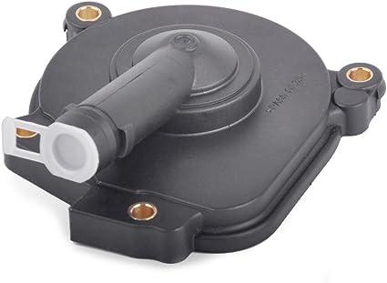 Genuine Mercedes Crank Case Vent Valve Oil Separator Cover W// Rear Cam Plugs 272