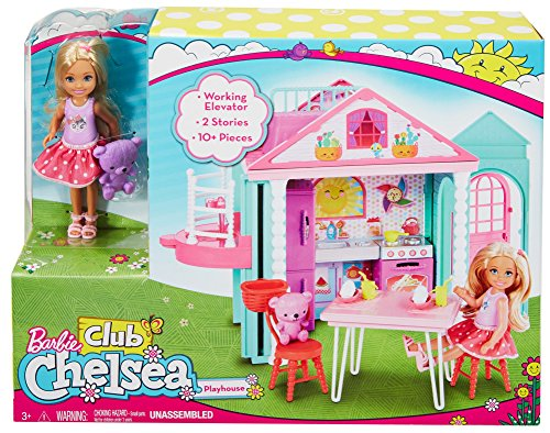 Barbie Club Chelsea Playhouse Playset