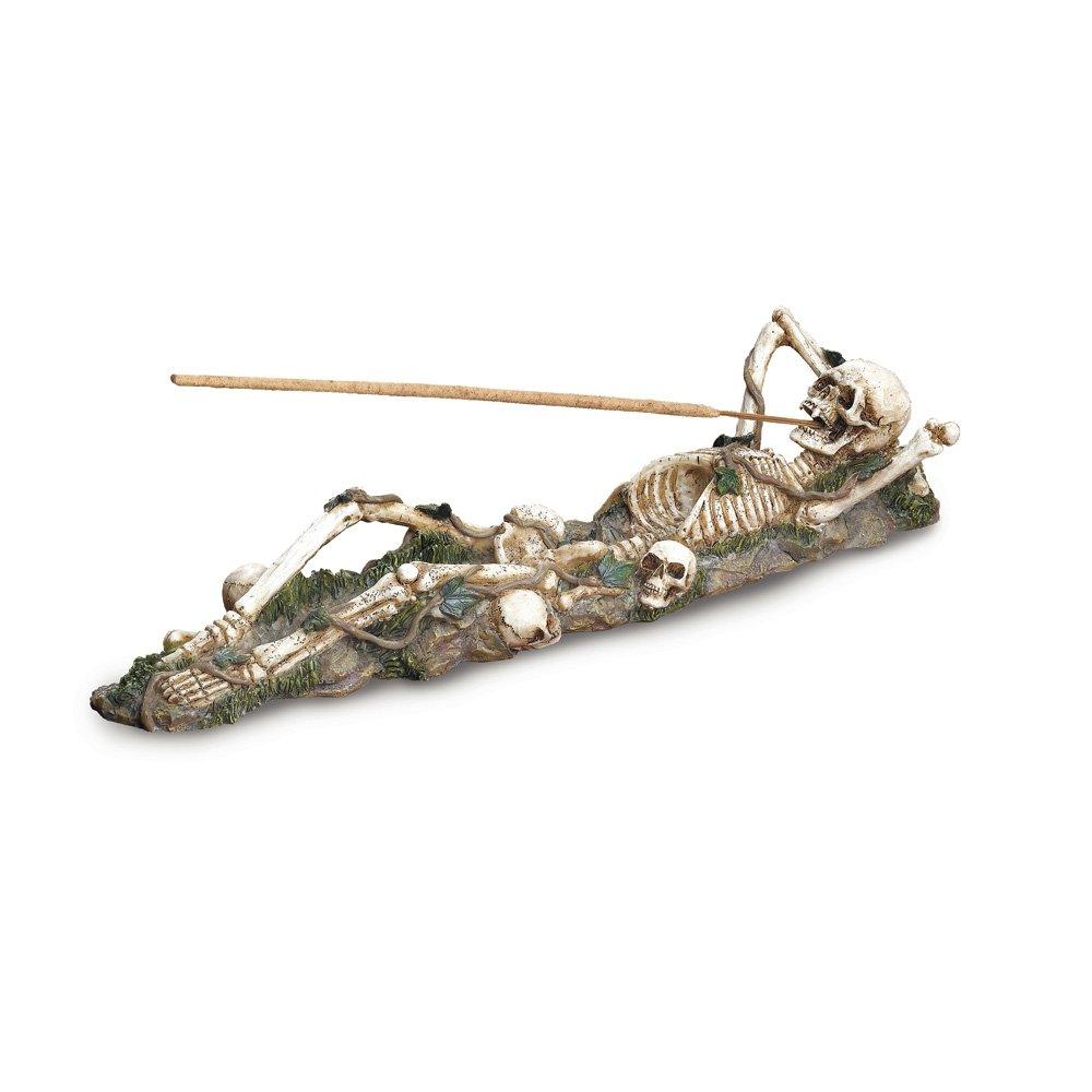 Gifts & Decor Skeleton Incense Burner Holder Collector Furniture Creations 37078